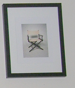 "From 20x200.com, my print featuring one of the chairs from Luke Strosnider's series ""Every Chair at the Visual Studies Workshop."" (p.s. I just ordered two pieces by Jorge Colombo who's work is being featured on the next ""New Yorker"" cover.)"