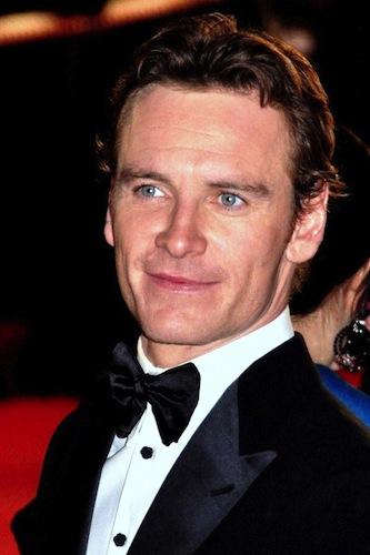 Michael Fassbender in a tuxedo