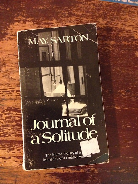 May Sarton's Journal of a Solitude